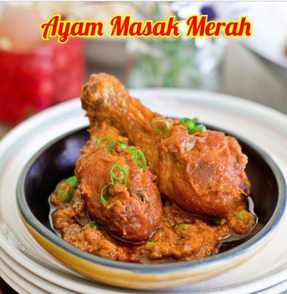 Resepi Ayam Masak Merah Chef Wan Resepi Ayam Masak Merah Pengantin Resepi Ayam Masak Merah Kenduri Resepi Ayam Masa Indian Food Recipes Food Cooking Recipes