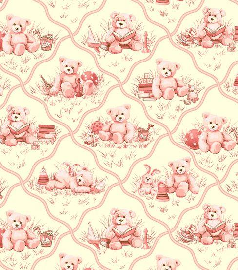 Nursery fabric toys stars pink nursery fabric at for Pink nursery fabric