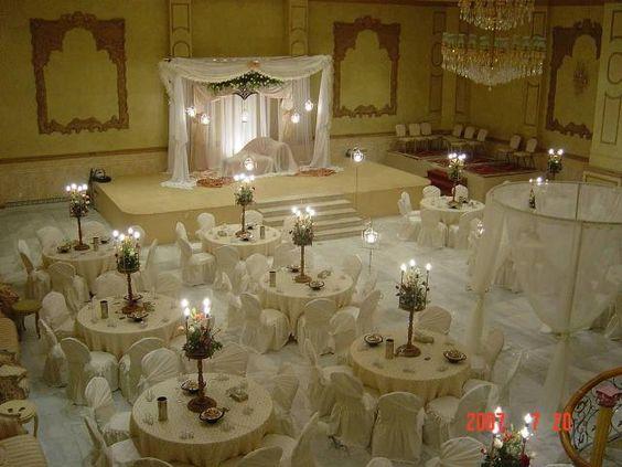 افخم قاعات الدمام قاعة الجوسق للاحتفالات Table Decorations Table Settings Decor