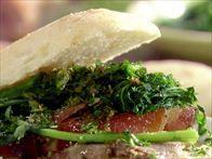 Pork and Broccoli Rabe Ciabatta Subs Recipe : Rachael Ray : Food Network
