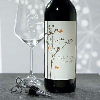 Etiquettes à bouteille de vin personnalisées