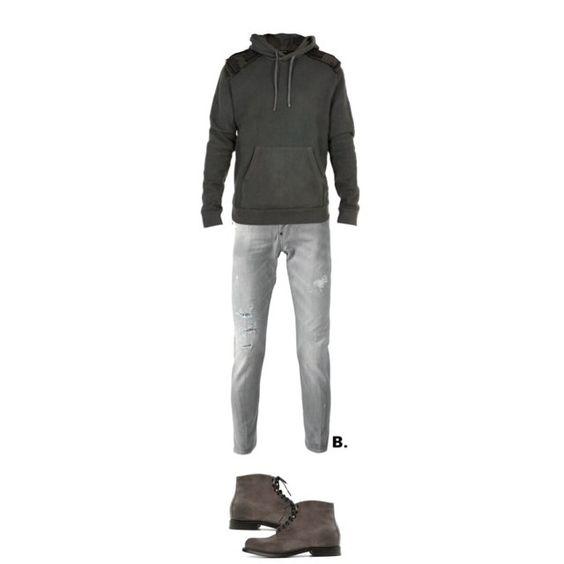 // #balmainparis sweater, #dsquared2 denim & #bottegaveneta boots