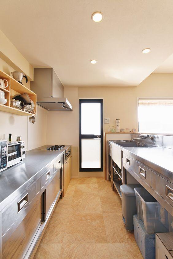 業務用キッチン シンク 流し シンプル 深い 洗いやすい