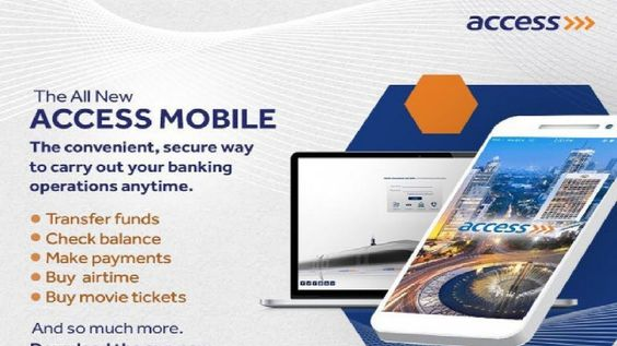 How To Register For Access Bank Mobile Banking In 2020 Mobile Banking Check And Balance Banking