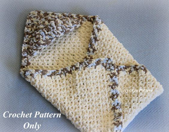 Crochet Pattern For Baby Blanket With Hood : Crochet baby, Hooks and Babies on Pinterest