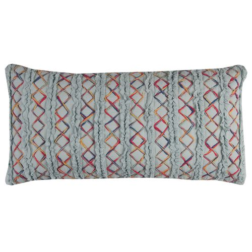 One Of A Kind Accent Pillow Cover (Aqua) (T11384)