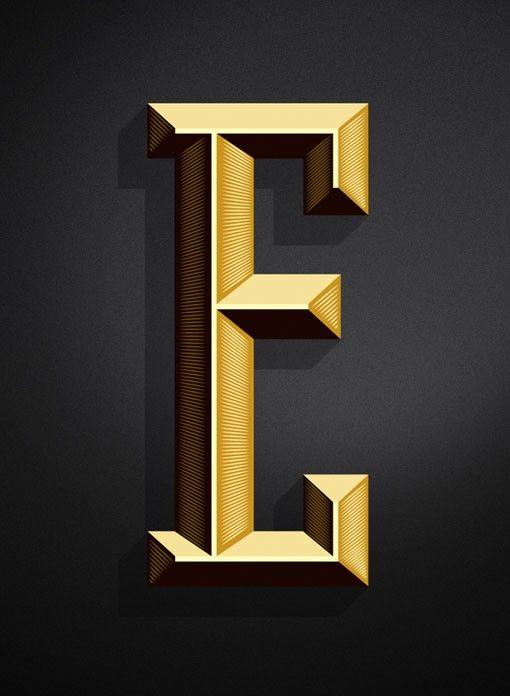 Typography / E