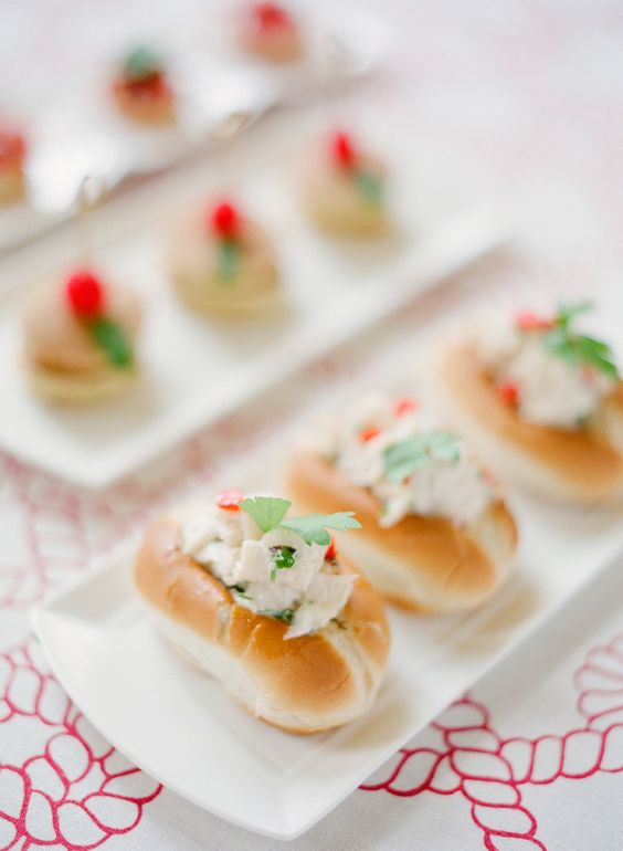 Summer Wedding Appetizer Ideas