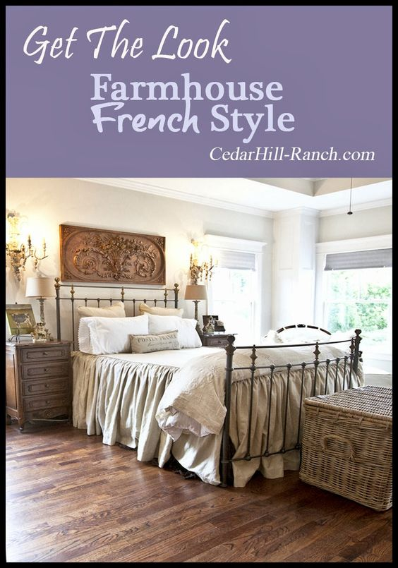 Finally the new house my bedroom french bedrooms - French country master bedroom ideas ...