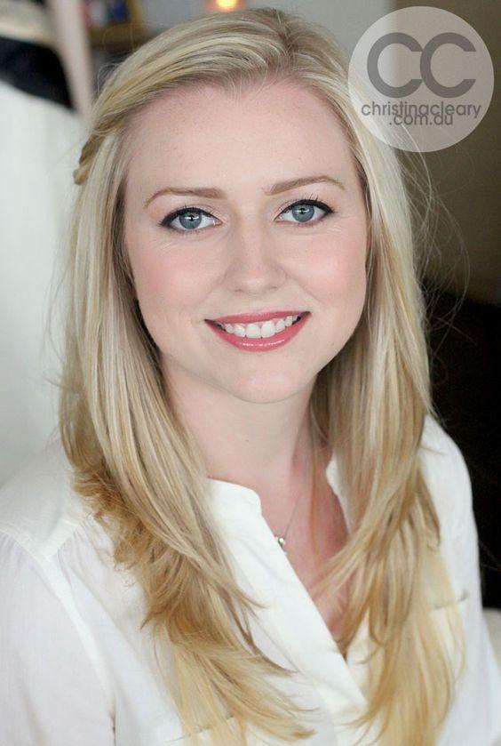 Lovely bridal look for fair skin via makeup artist ...