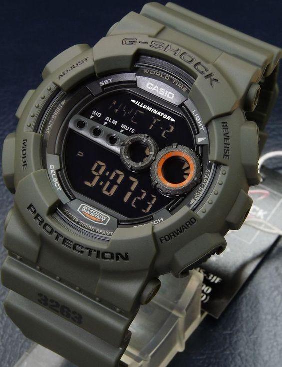Casio Men's G-Shock Watch GD100MS-3