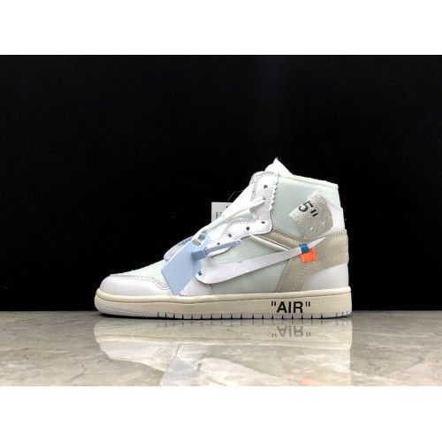 online retailer new style online retailer Best OFF White X Nike Air Jordan 1 OW White Shoes Online in 2020 ...