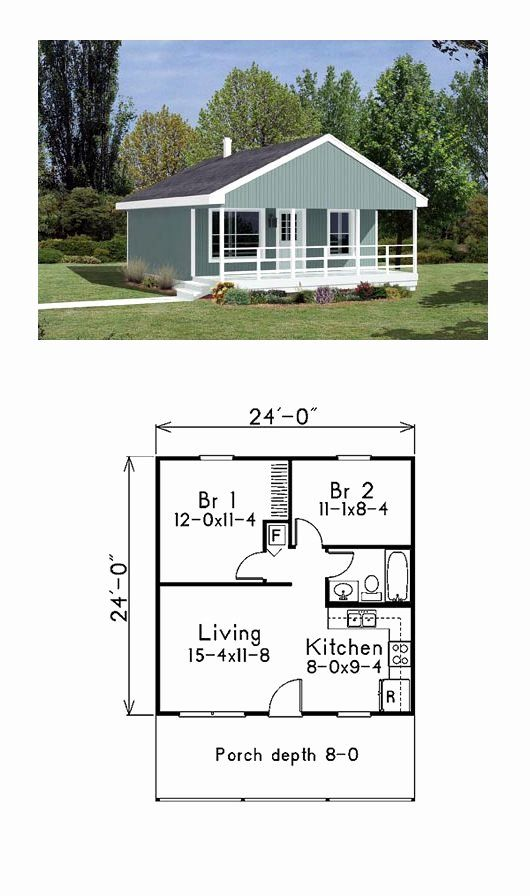 Cabin Style House Plans Awesome Cabin Style House Plan With 2 Bed 1 Bath In 2020 French Country House Plans House Plans Cabin Floor Plans
