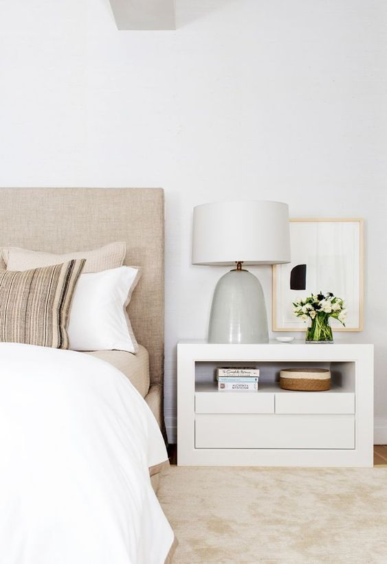 Modern Nightstand Ideas From The Master Bedroom Collection White Bedroom Design Simple Bedroom Bedroom Interior