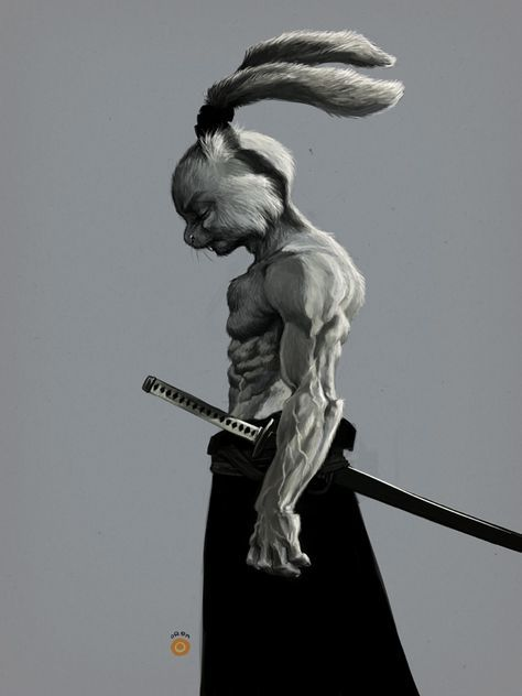 USAGI YOJIMBO by solitarium.deviantart.com on @deviantART