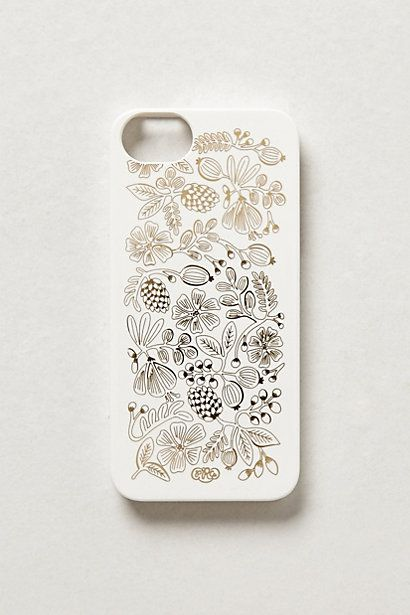 seeded bouquet iphone 5 case / anthropologie
