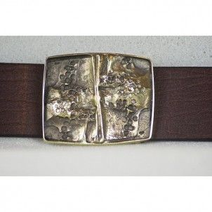 Abstract Belt Handmade from Cellar Leather