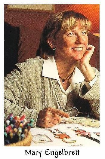 Mary Engelbreit, an artist from St. Louis, MO., read a short biography about her on the history nut blog.