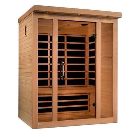 Golden Designs Dynamic Porto 3 Person Low Emf Far Infrared Sauna Dyn 6315 02 Sauna Infrared Sauna