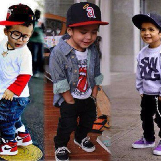 Little cuties. My babies are gonna be swagged out