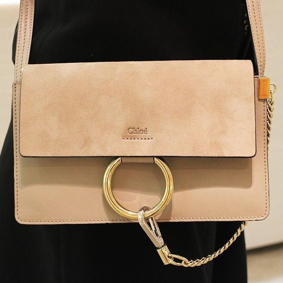 A classic shape with a modern edge… Invigorate your look with @Chloe's Faye bag. (Ground Floor)