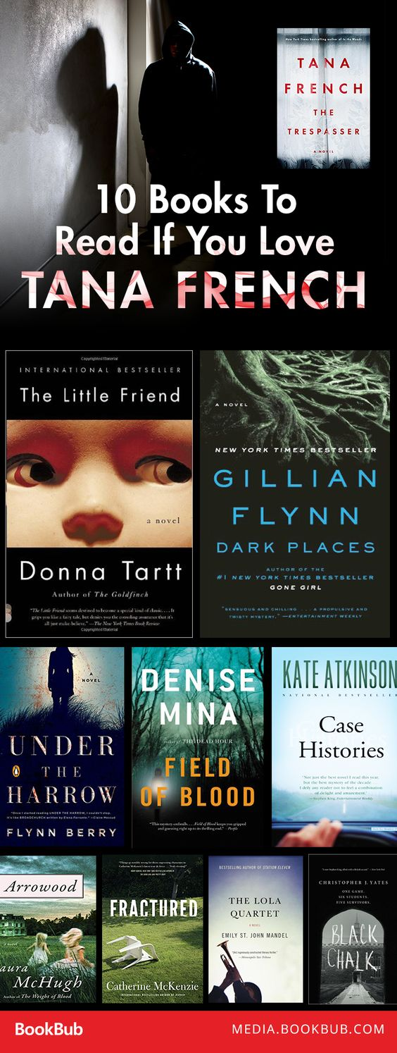 10 Gripping Books To Read If You Love Tana French These Mysteries And  Thrillers Won
