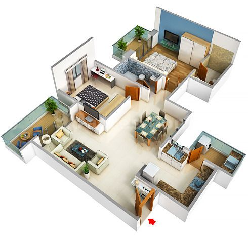 Upcoming Projects Sobha International City Indiapropertyadvisors Sims House Design My House Plans Bedroom House Plans