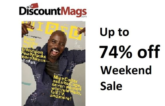DiscountMags.com has magazines on sale from $4.95/yr during their End-of-Season Sale. No Auto-Renewals to worry about, Free Shipping, and No Tax.