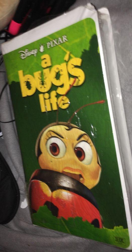 Disney Pixar A Bug S Life Vhs Clamshell Ladybug New Rare Ebay A Bug S Life Ebay Vhs
