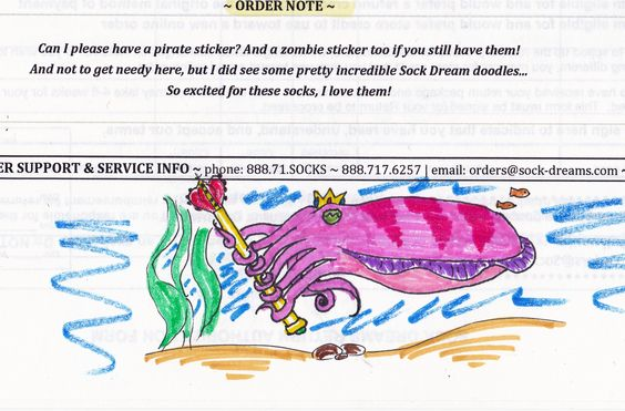 King Cuttlefish, by Cameron
