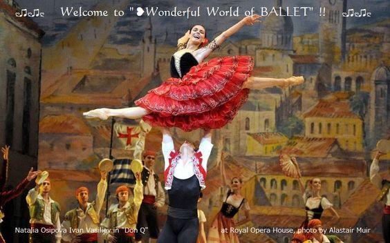 "❥Natalia Osipova  Ivan Vasiliev in ""DQ"" at ROH, (by Slastair Muir) https://www.facebook.com/groups/W.W.Ballet/"