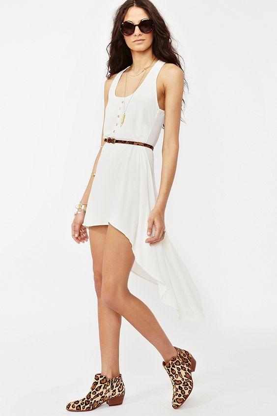Moondance Dress - Ivory