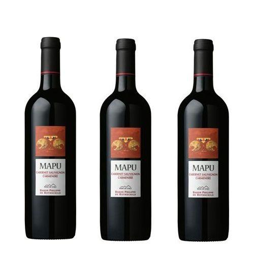 Rượu Vang Mapu Red 13% - Chai 750ml - Rượu Vang Nhập Khẩu