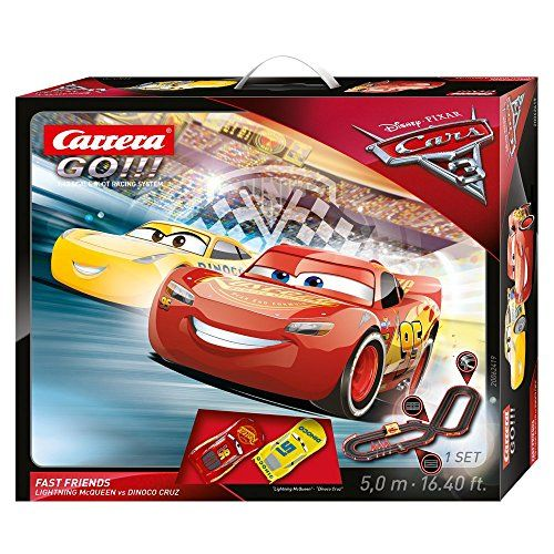 Carrera 62419 Go Disney Pixar Cars 3 Fast Friends Slot Car Race Set Owh S Slot Car Shop Disney Pixar Cars Pixar Cars Pixar