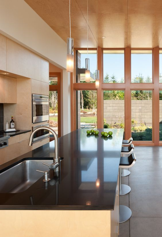 Faucets kitchen sink kitchen modern with bar stool bar stool bar stool light…