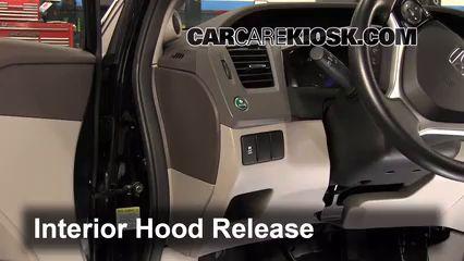 Transmission Fluid Level Check Honda Civic 2012 2015 2012 Honda Civic Ex L 1 8l 4 Cyl Sedan Honda Civic Honda Civic Dx Honda Civic Ex