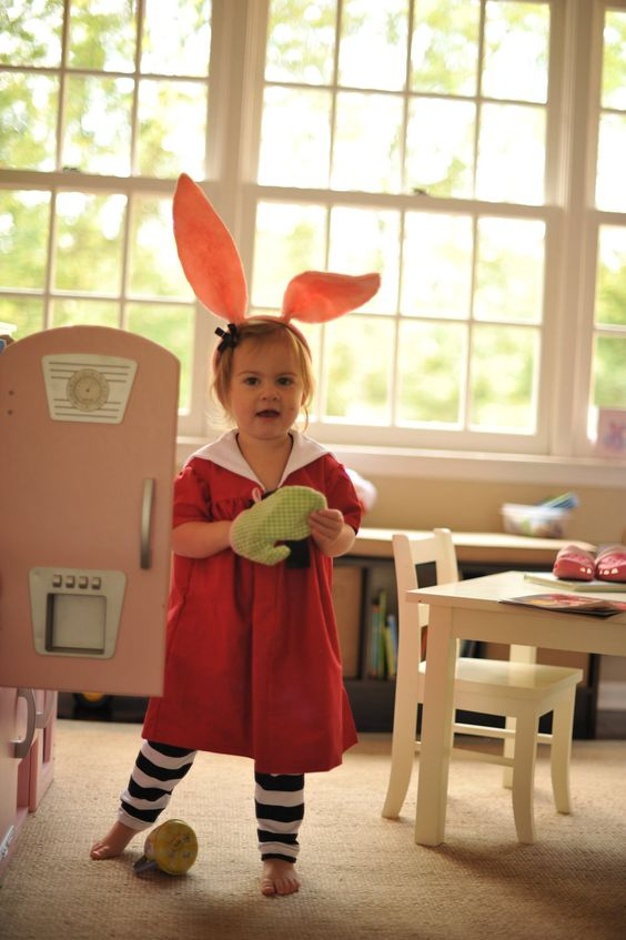 Made To Order Olivia The Pig Red Sailor Dress Halloween Costume. 3 Piece Set Size 1,2,,3,4,5,6. $95.00, via Etsy.
