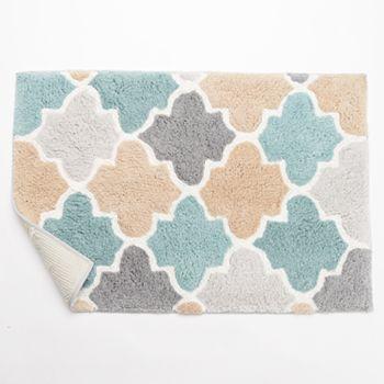 multi colored bath rugs- universalcouncil