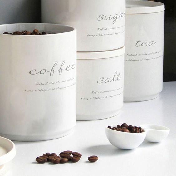 コーヒー保存容器おすすめ9つ。お洒落でインテリアにもなっちゃう?