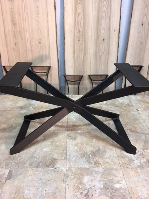 Ohiowoodlands Coffee Table Base Solid Steel Coffee Table Legs Metal Table Base Table Base Steel Table Legs