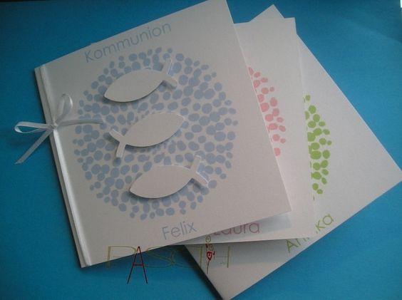 Einladung/Danksagung+christl.+Anlass+Kuvert+Text++von+DESIGN+for+CELEBRATIONS+auf+DaWanda.com