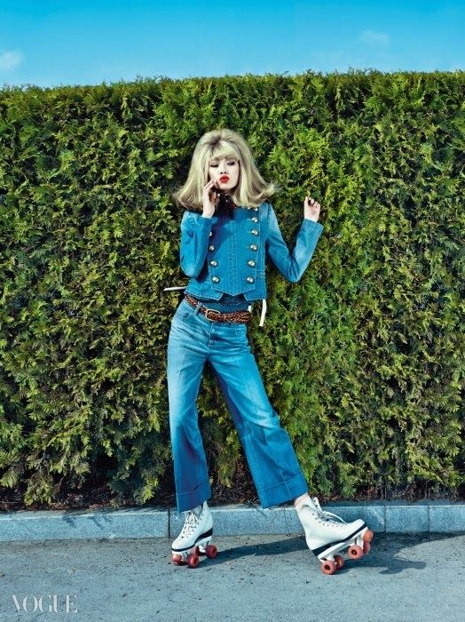 """Lollipop Plays"" Gucci featured in Vogue Korea March 2015"