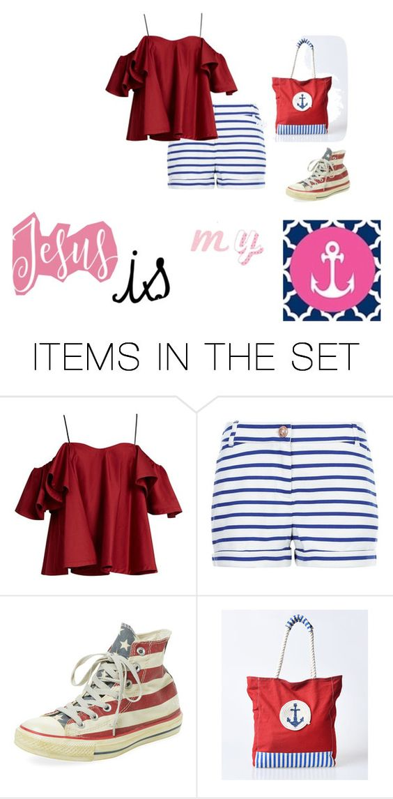 """""""Jesus is MY anchor!!!!"""" by maddog-k ❤ liked on Polyvore featuring art and Jesus"""