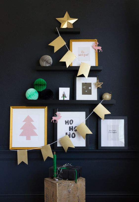 Alternative Christmas Tree 2015 - French By Design