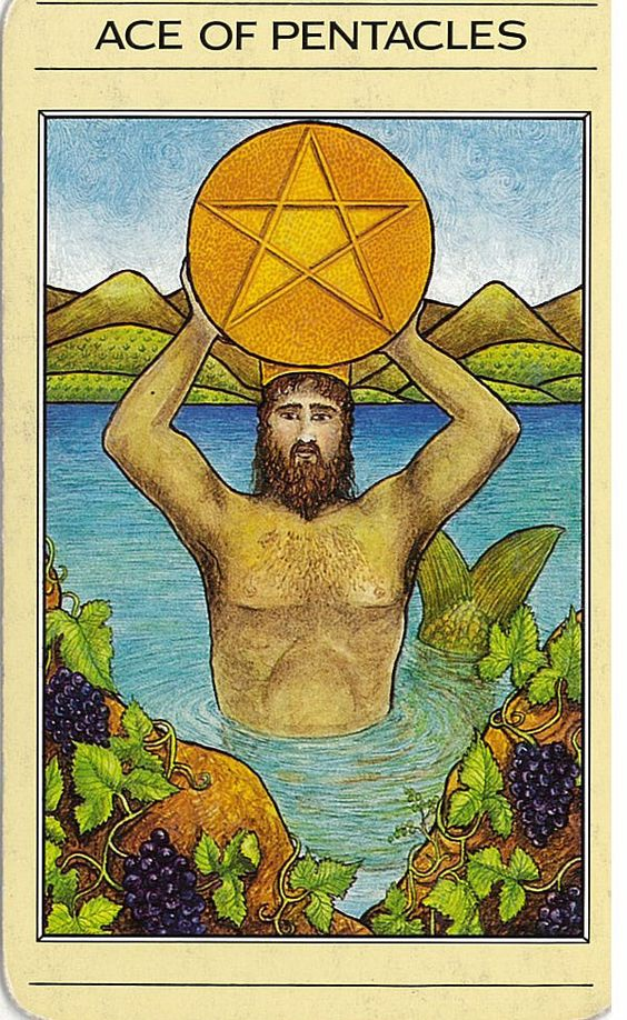 Mythic Tarot This is a card from the very first deck I ever worked with.