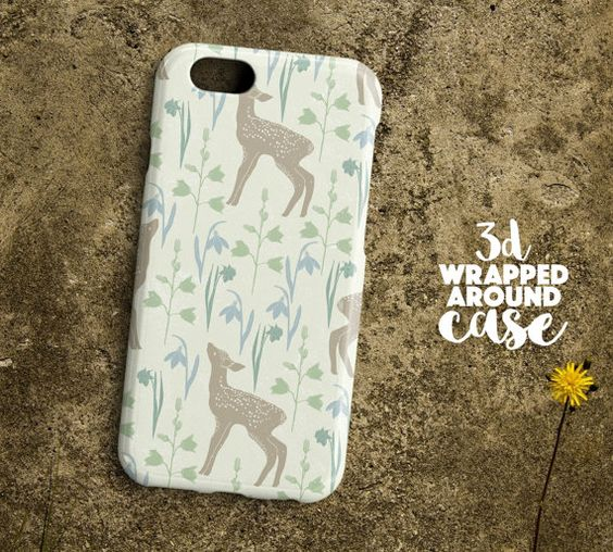 Deer patterniPhone 6s Caseiphone 6s Plus by LoudUniverse on Etsy