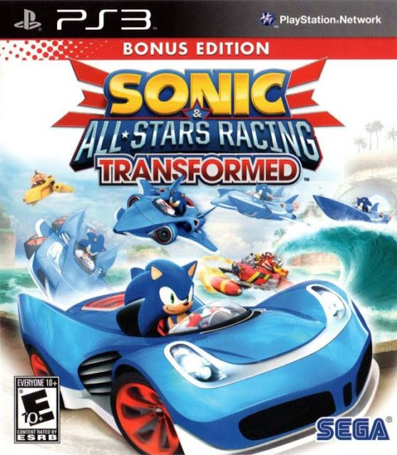 Sonic All Stars Racing Transformed Ps3 Iso Rom Download Nintendo 3ds All Star Sonic