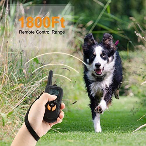 Haolixin Dog Training Collar Dog Training Shock Collar With 500