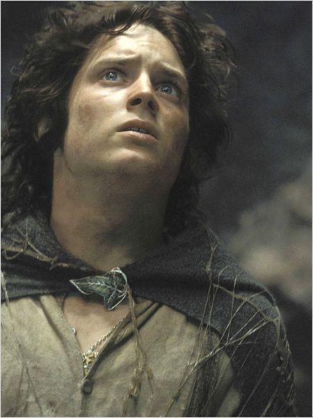 Le Seigneur des anneaux : le retour du roi : photo Elijah Wood, Peter Jackson