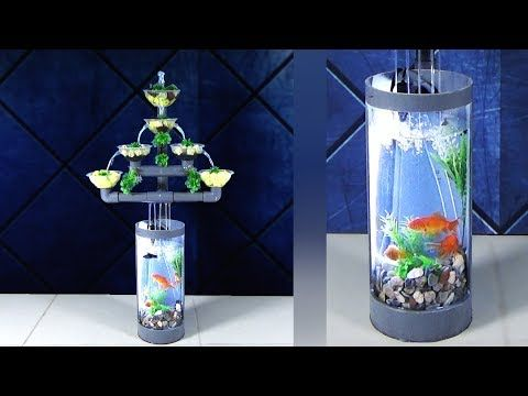 Aquarium Fountain Using Pvc Pipes